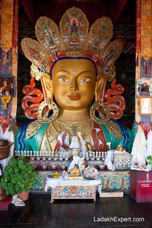 Maitreya-statue-thiksey