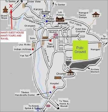 shanti-guest-house-map